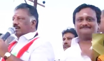 O Panneerselvam speech at election campaign at Aranmanaipudur, Theni
