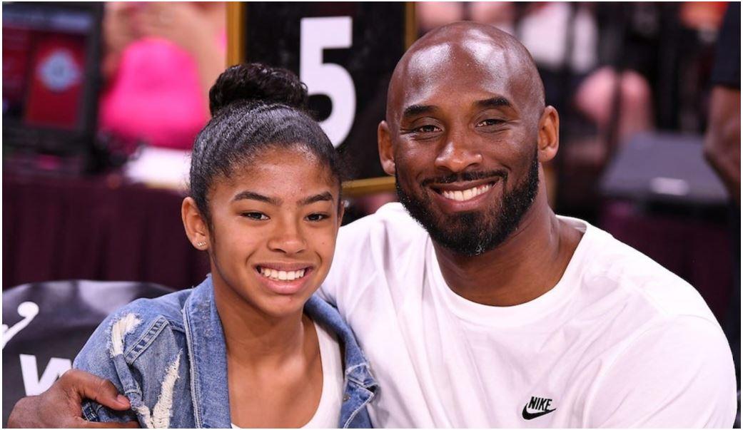 Kobe y su hija GIGI