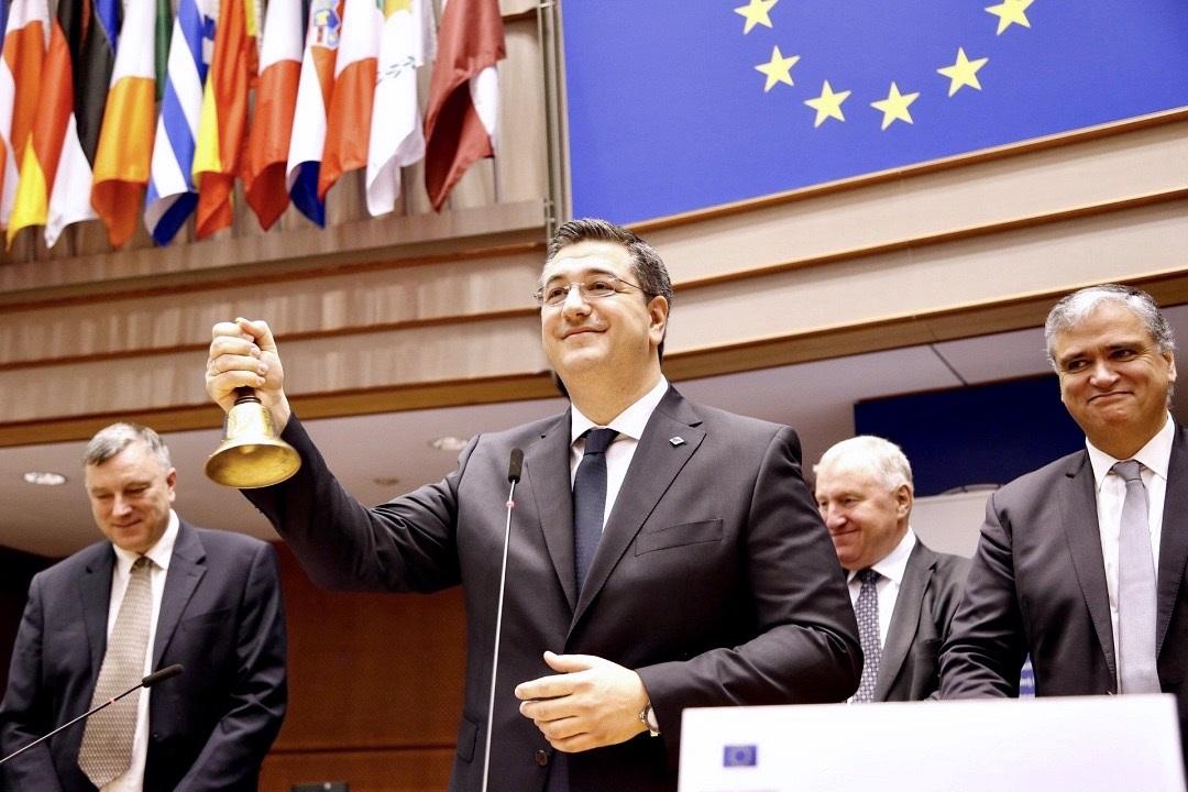 Α. Τζιτζικώστας: «Προτεραιότητά μου να φέρουμε την Ευρώπη πιο κοντά στους πολίτες» - Ο Περιφερειάρχης Κεντρικής Μακεδονίας πρώτος Έλληνας Πρόεδρος της Επιτροπής των Περιφερειών της Ευρωπαϊκής Ένωσης