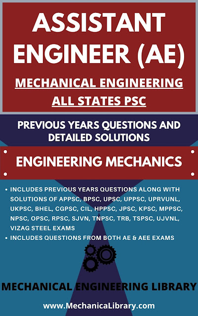 THERMODYNAMICS - AE, AEE, STATE PSC'S MECHANICAL ENGINEERING - ALL STATES PSC'S PREVIOUS YEARS QUESTIONS AND SOLUTIONS - FREE DOWNLOAD PDF - MECHANICALIBRARY.COM EXCLUSIVE