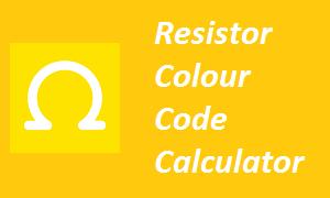 Resistor Colour Code Calculator