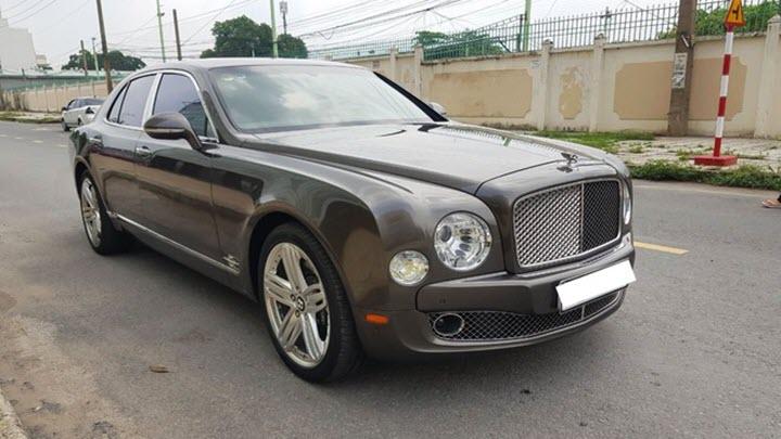 Bentley Mulsanne lỗ 10 tỷ sau 10 năm sử dụng tại Việt Nam
