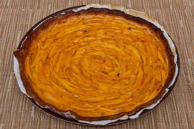Tarte mangue et noix de coco - food - cuisine - cooking - exotique - exotic - coconut - mango - dessert - recette - manger