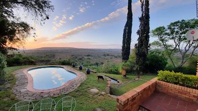 Sunrise in the Karoo
