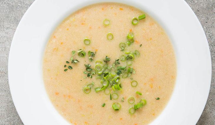 Krupicová polievka