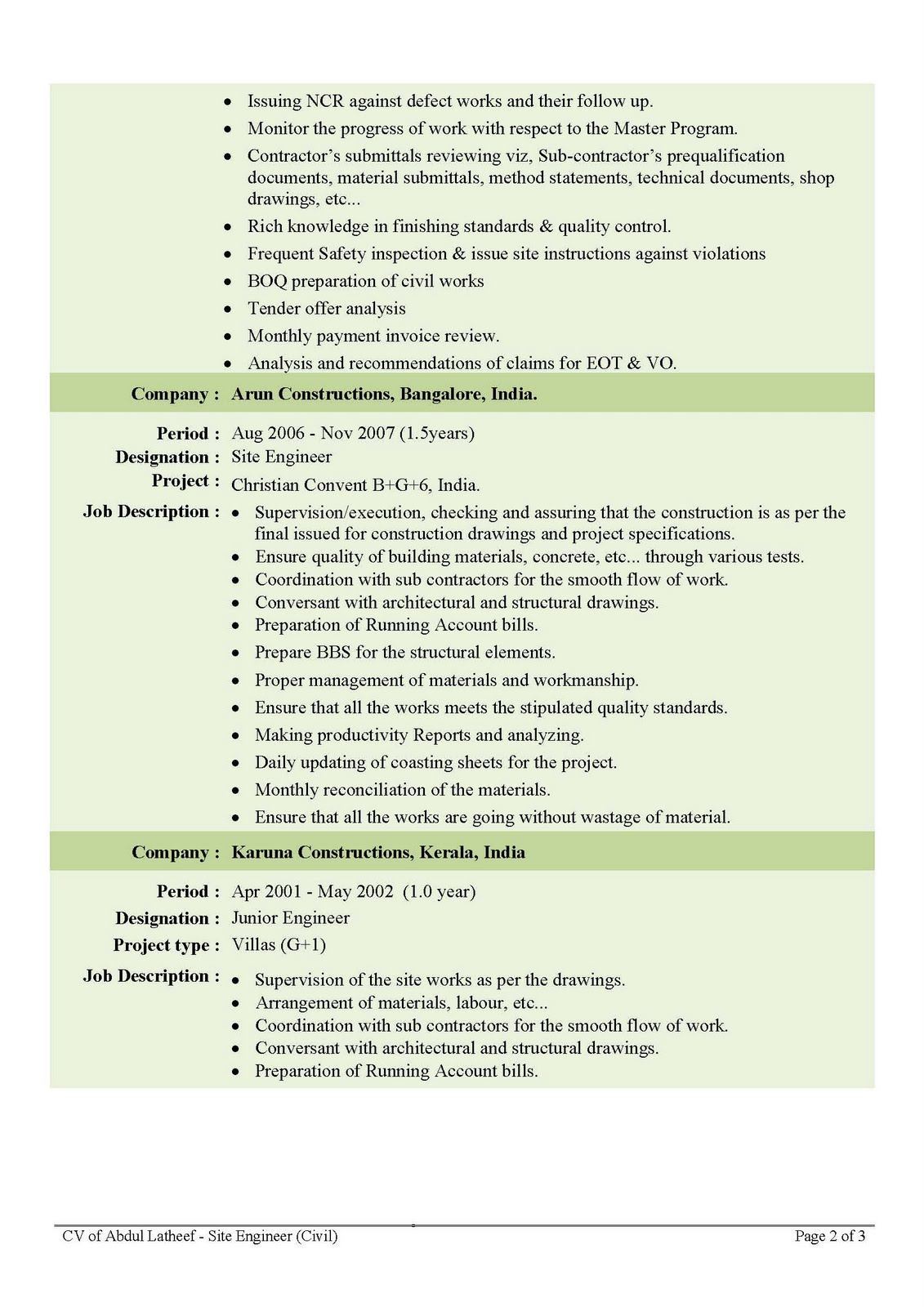 Civil Engineering Cover Letter Help Best Resume Samples Resume Help For Civil  Engineers SlideShare Engineering CV  Civil Engineering Resumes