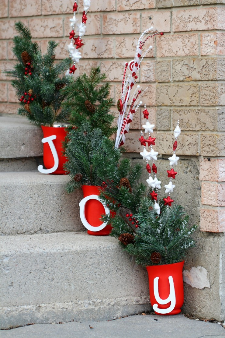 Outdoor Christmas Decorations | Ideas for Outdoor ...