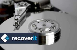 cara mengembalikan file di harddisk yang terformat dengan wondershare recoverit