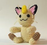 http://www.ravelry.com/patterns/library/meowth-pattern-crochet-amigurumi-pdf
