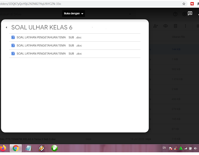 Download Soal PH Kelas 6 Tema 7 Kurikulum 2013 Revisi Terbaru