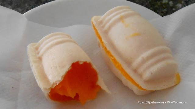 Doces portugueses: ovos moles de Aveiro