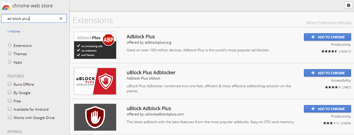 Over 37,000 People Installed The Fake AdBlock Plus Google Chrome