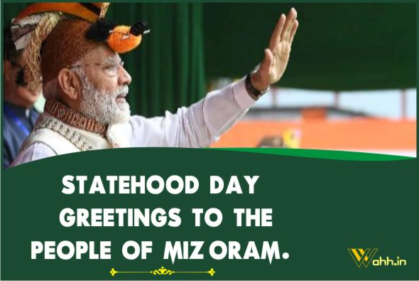 Mizoram State Day Wishes Quotes