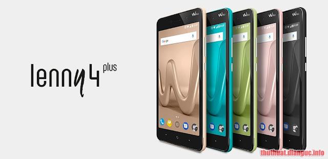 Rom stock cho Wiko Lenny 4 Plus – Xoá xác minh Google, unbrick, fix treo logo