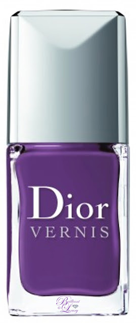 Brilliant Luxury ♦ Dior Vernis Purple Nail Lacquer