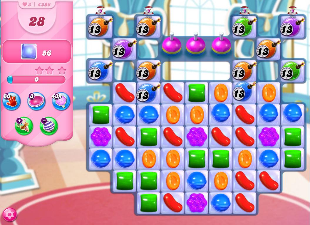Candy Crush Saga level 4286