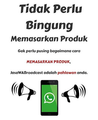 Jasa Whatsapp Marketing Terpercaya - Iklanjempol.com