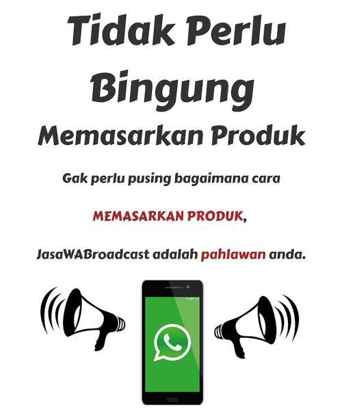 Jasa Whatsapp Blast Terpercaya - Jasaseotravel.com