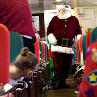 The Polar Express Train Ride Blackstone Valley RI New England Fall Events Santa Claus I Love Olive Photography