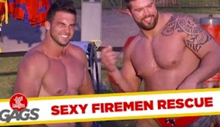 Funny Videos – Firefighters Strip Tease and Rescue Victims – Just For Laughs Gags