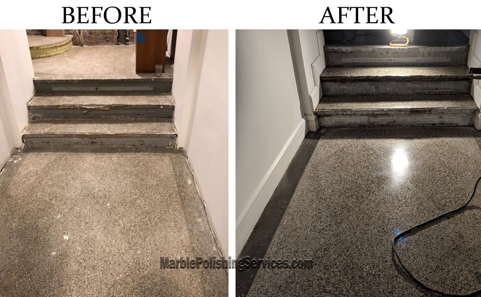 Terrazzo Floor Restoration Marble Polishing Services