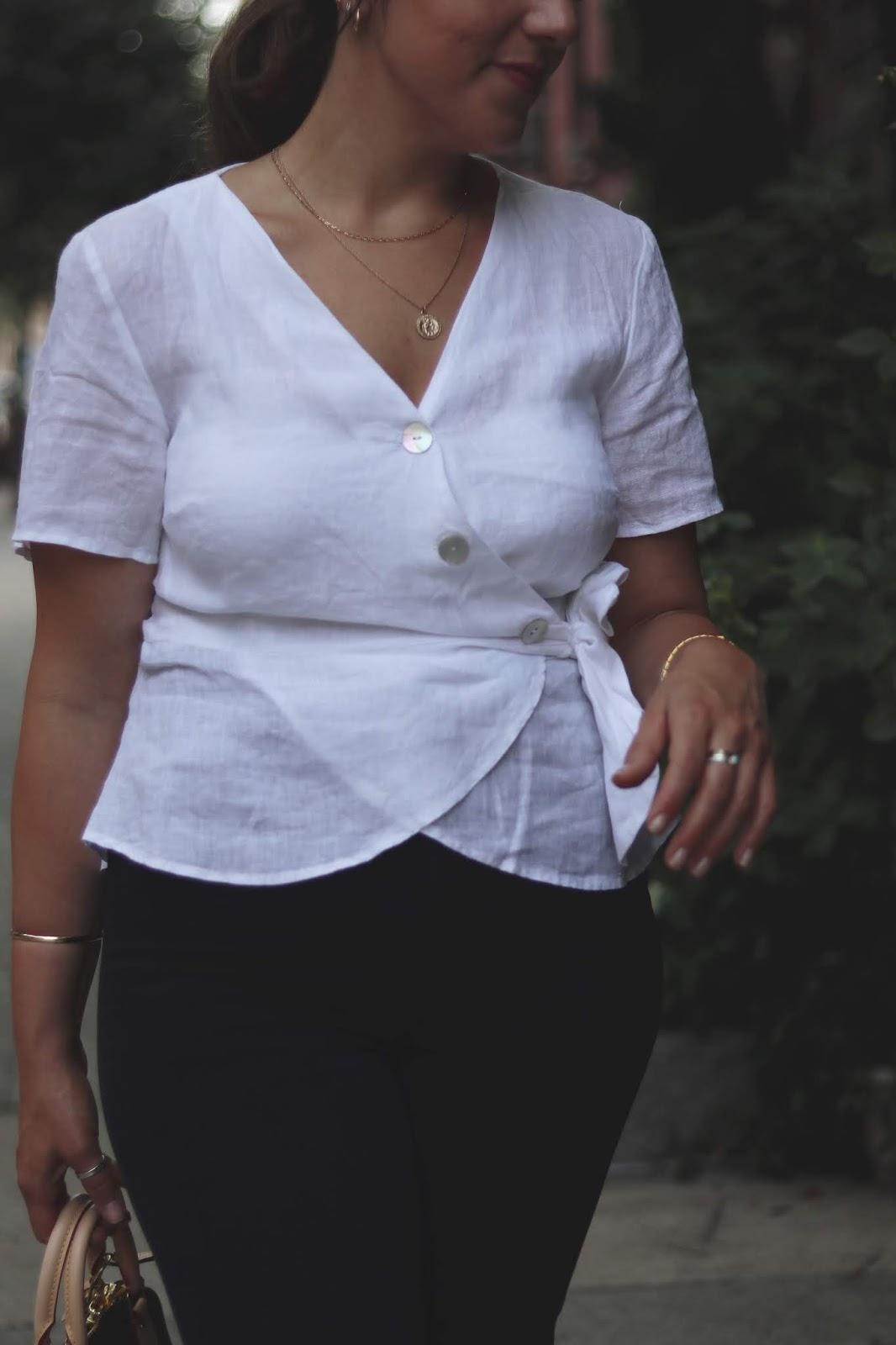 linen shirt outfit levis ribcage outfit louis vuitton bb alma