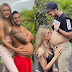 Colombian Transgender Model Shares Photo Of Her Husband's Eight-Month Baby Bump As They Prepare To Welcome Their First Child
