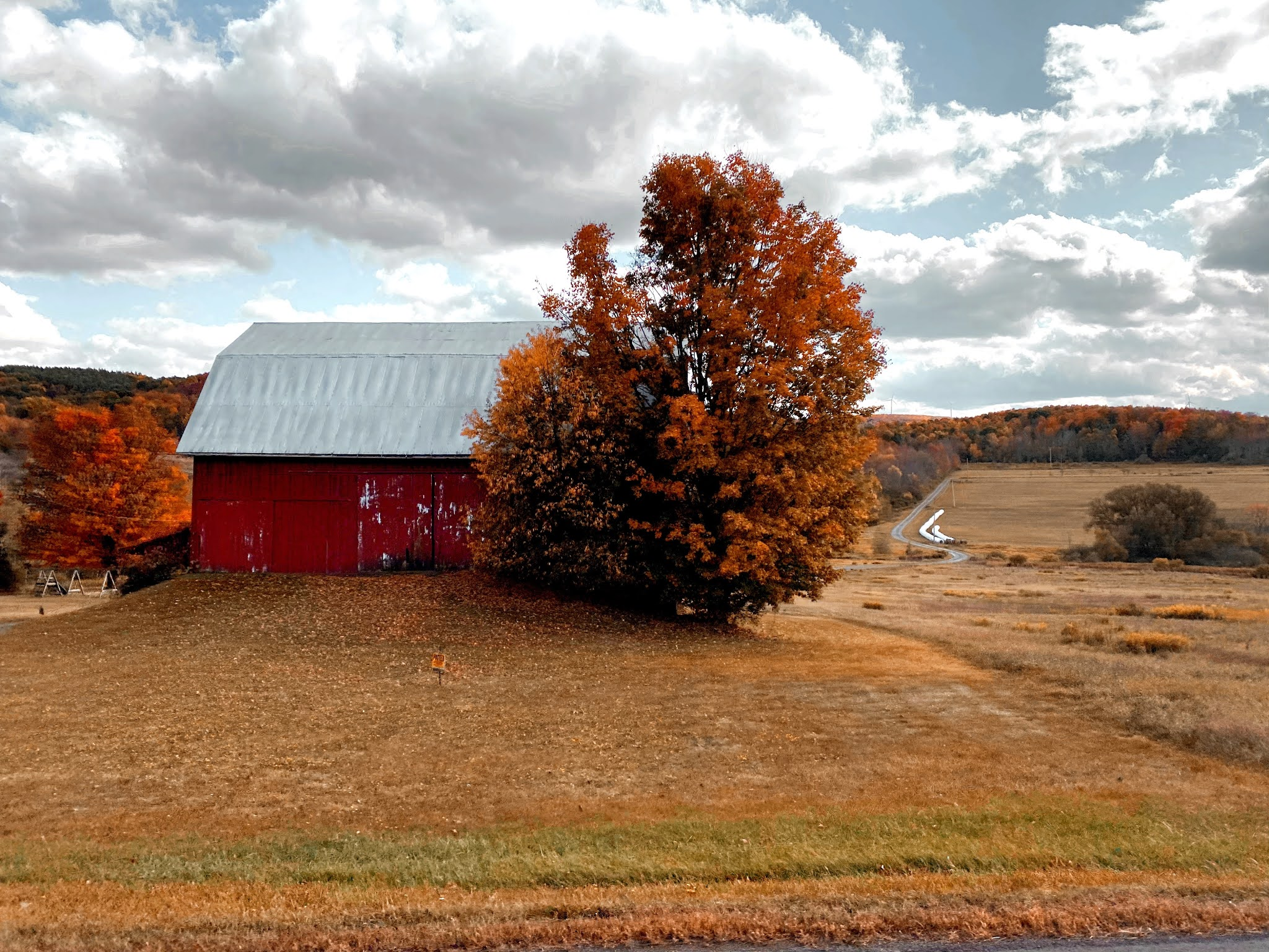Old Barn in Fall | biblio-style.com