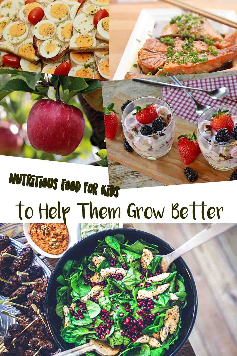 Nutritious Food for Kids to Help Them Grow Better