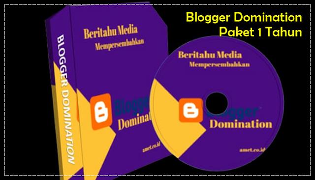 Blogger Domination Paket 1 Tahun