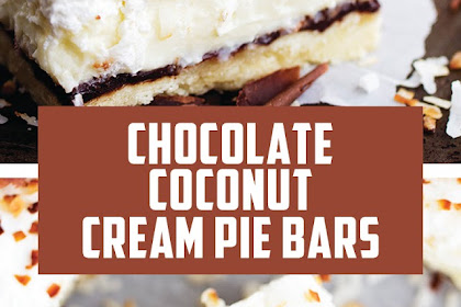CHOCOLATE COCONUT CREAM PIE BARS