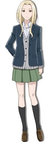Rena Hasegawa como Rio Amakusa y Junya Enoki como Kai Tamaru