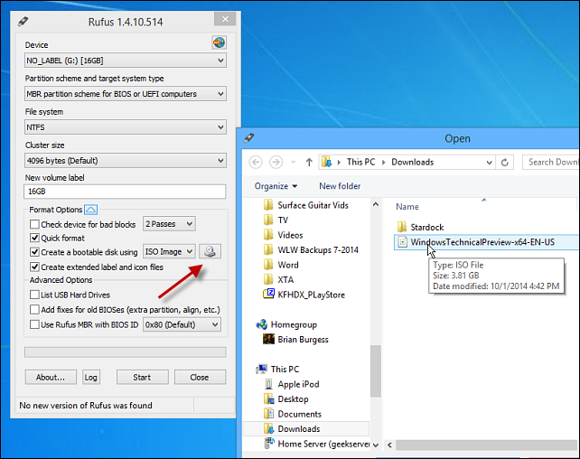 How to Create Windows 10 Technical Preview USB Drive | Gadgets