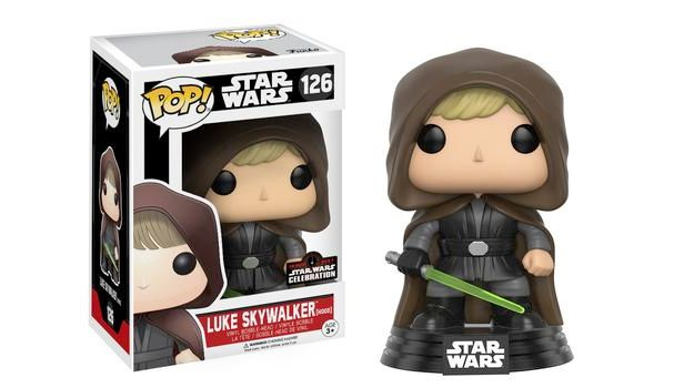 Bonecos Pop Funko Star Wars Celebration 2017 Luke