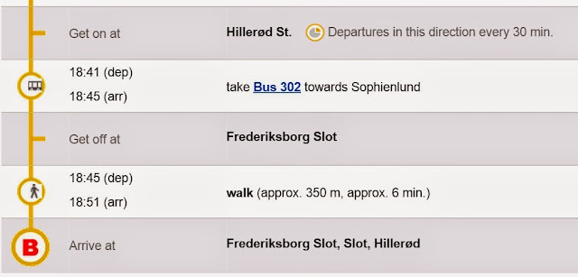copenhagen, 哥本哈根, transport to Frederiksborg
