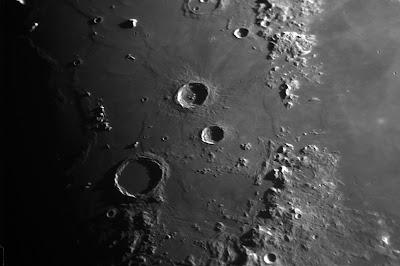 Lluna, zona cràter Archimedes i Aristillus