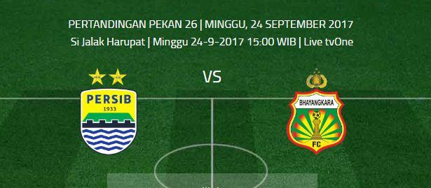 Prediksi Persib Bandung vs Bhayangkara FC