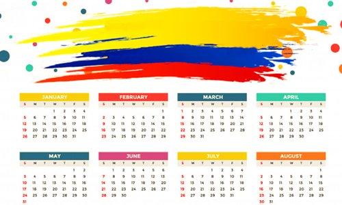 Días festivos en Colombia 2020 y fechas importantes