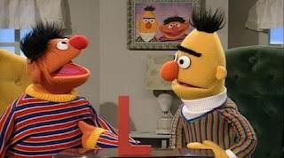 Bert and Ernie sing La, La, La. Sesame Street Alphabet Songs