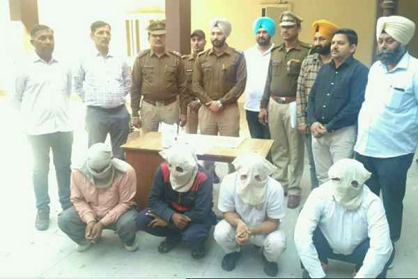 karnal-police-good-work-2-5-crore-worth-heroin-4-accused-arrested