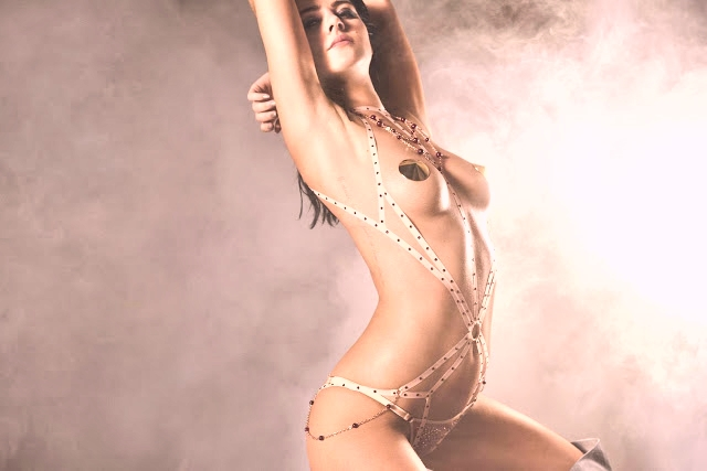 Agent Provocateur Holiday Latest Campaign featuring Eliza Cummings