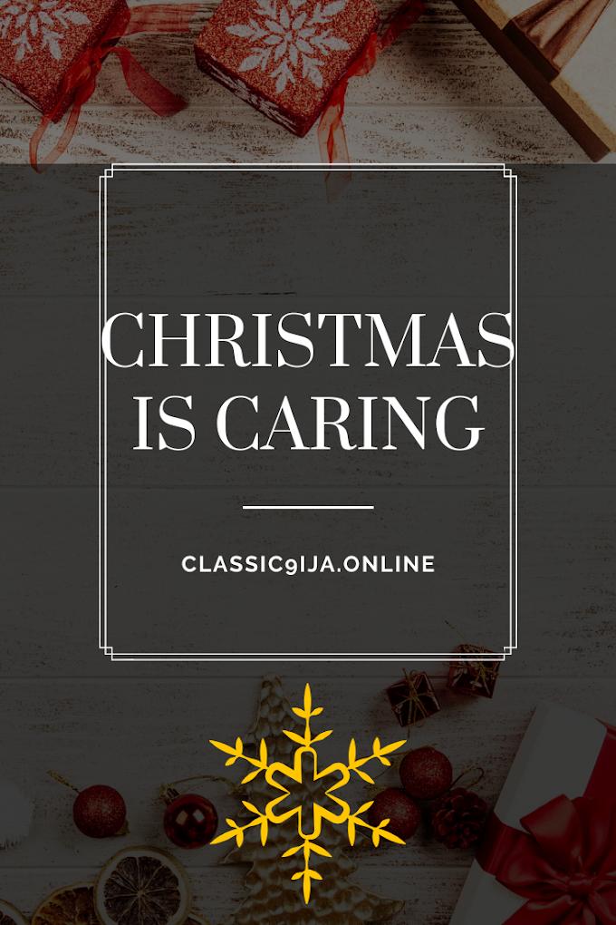 BLOGMAS: Christmas is Caring.