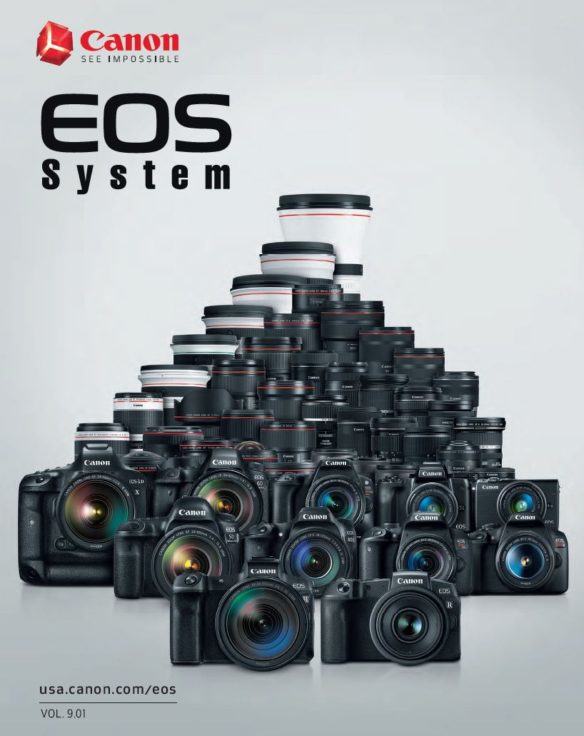 Canon Camera News 2019: Canon EOS Camera System PDF Brochure