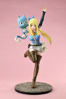 Fairy Tail - Figura de PVC Lucy Heartfilia 1/8 de Bell Fine