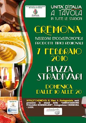 unità d'italia a tavola cremona 2016