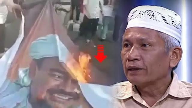 Mujahid 212 Damai Hari Lubis menyoroti sikap Polri yang terkesan tebang pilih dalam melakukan penindakan. Hal ini terlihat saat Polri responsif saat bendera PDI Perjuangan dibakar ketimbang pembakaran foto HRS.
