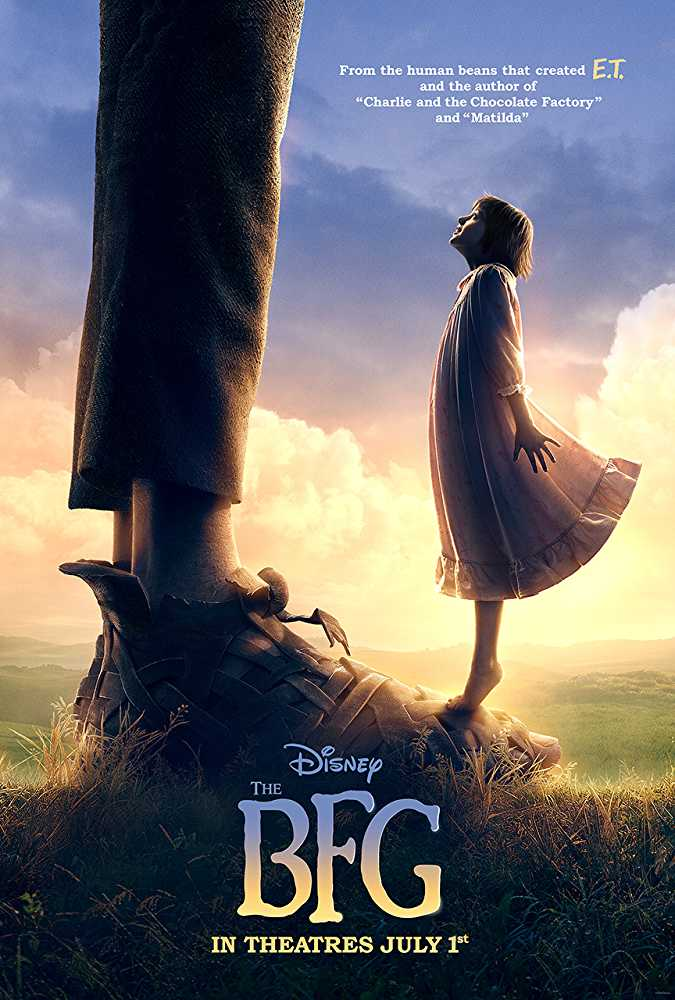 The BFG 2016 Dual Audio 720p Bluray [Hindi – English]