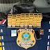 PRF, com apoio das Polícias Civil e Militar, prende estelionatário que aplicava golpes em Concórdia, na BR 153