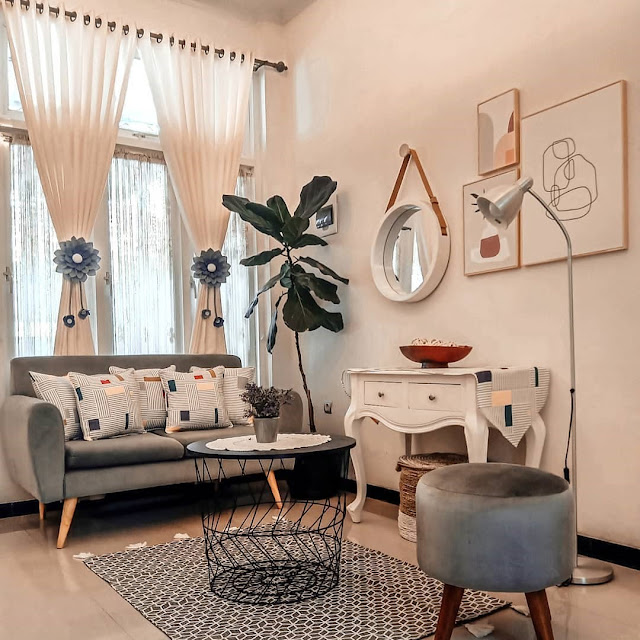 Ruang Tamu Sederhana Cantik Terbaru