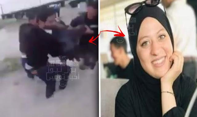 بالفيديو ... مشهد فظيع ومؤلم لحظة العثور على الشابة مريم الذهبي إثر سقوطها في بالوعة في النفيضة
